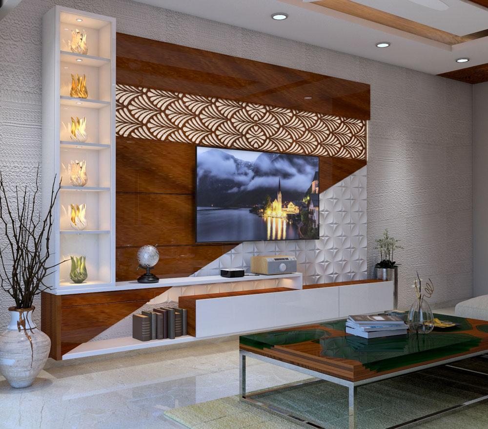 Living Room Interior Designer in Kolkata – Gayatri Creations